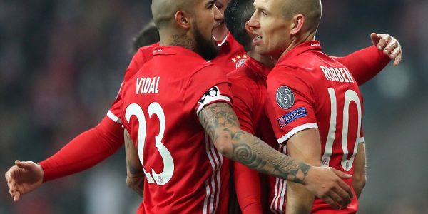 Sábado. 11:30 Hrs.: Hertha Berlin vs Bayern Münich (A. Vidal)